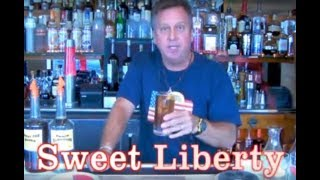 Sweet Liberty Cocktail Video Drink Recipe