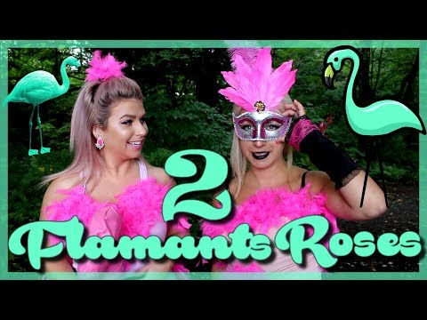 COSTUME | Flamants roses | DIY | 2 Blondes Futées