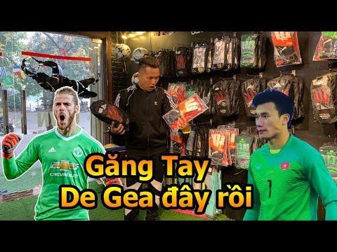 Thử Thách Bóng Đá đi mua găng tay của thủ môn De Gea và Bùi Tiến Dũng U23 Việt Nam - Thời lượng: 10 phút.