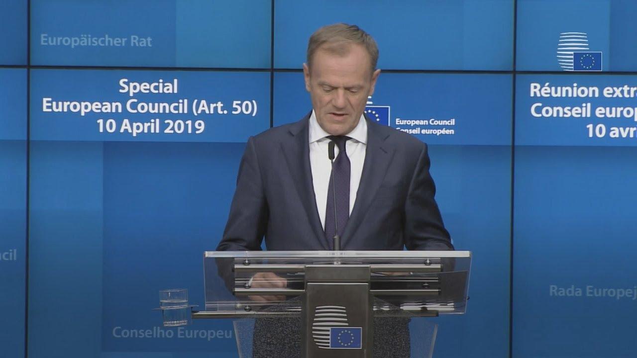 Οι 27 συμφώνησαν την αναβολή του Brexit ως την 31η Οκτωβρίου
