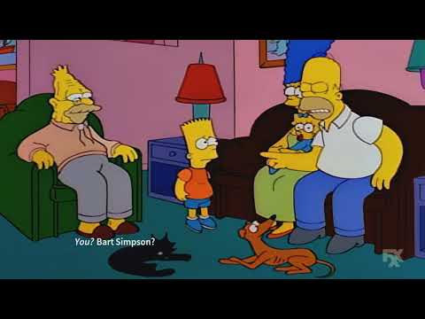The Simpsons - Homer confronts neighbor