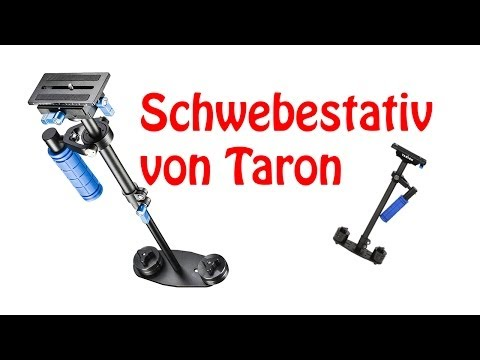 Review: Tarion 60cm Schwebestativ + Test| Kamera Zubehör | German HD