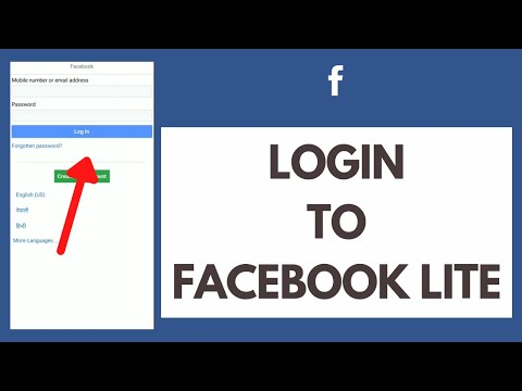 Facebook lite login www Facebook Lite