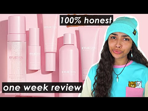 I Tried Kylie Skin For One Week ✨ detailed review + rant