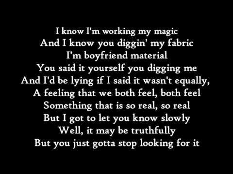 ZAYN - Still Got Time ft. PARTYNEXTDOOR - Lyrics