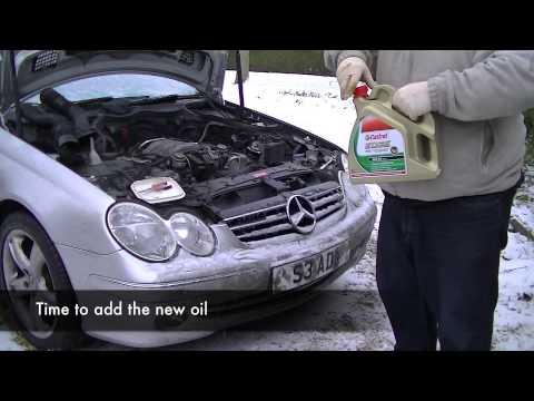 Mercedes CLK320 (A209) service