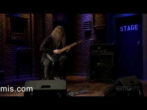 origin - Jeff Loomis performs the track ''Sibylline Origin