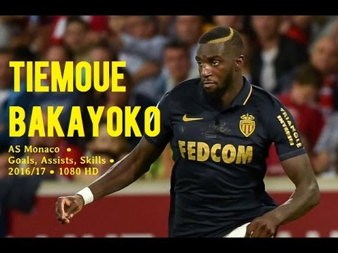 TIEMOUE BAKAYOKO ● AS Monaco  ● Goals, Assists, Skills ● 2016/17 ● 1080 HD