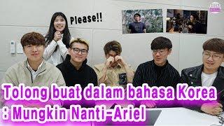 "Video Reaksi orang Korea mendengarkan ""Mungkin nanti-Ariel"" dalam bahasa Jepang MP3, 3GP, MP4, WEBM, AVI, FLV Juni 2019"