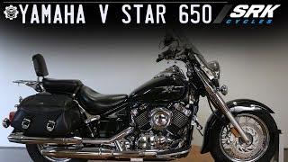 10. Yamaha V Star 650(perfect beginner bike)