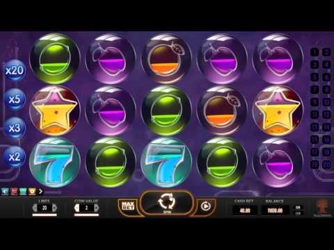 Pyrons slot Yggdrasil Gaming - Gameplay