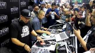 Namm 2013: Dj Babu and D-Styles at Rane booth