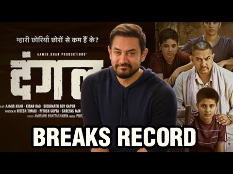 Aamir Khan's Dangal To Break All Records, Aamir RE