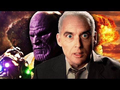 Thanos vs J Robert Oppenheimer. Epic Rap Battles of History