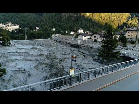 Ελβετία: Έρευνες για τον εντοπισμό οκτώ αγνοουμένων