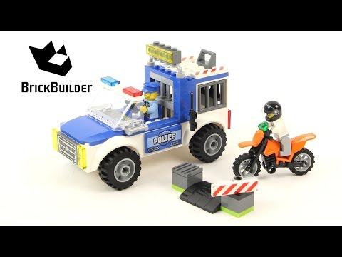 Vidéo LEGO Juniors 10735 : L'arrestation du bandit