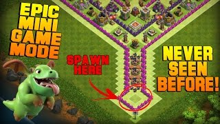 Clash of Clans | TH8 Mini Game Base | Epic Game Mode + Funny Fails [Friendly Challenge 2016]