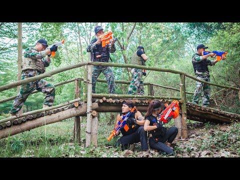 LTT Nerf War : SEAL X Warriors Nerf Guns Fight Attack Assassin Deadshot  Criminal Group
