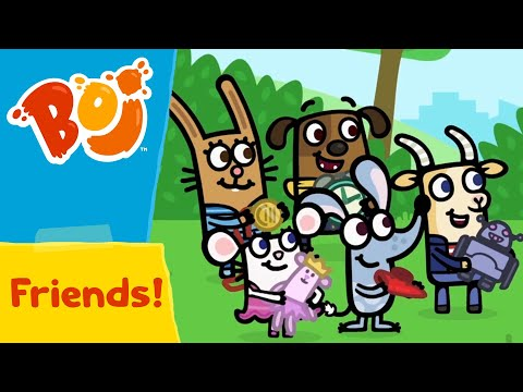 Boj - Playing with Friends! 😊 | Full Episodes | Cartoons for Kids