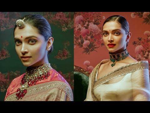 Video Deepika Padukone Looks Beautiful In Sabyasachi Saree Photoshoot 2018 download in MP3, 3GP, MP4, WEBM, AVI, FLV January 2017