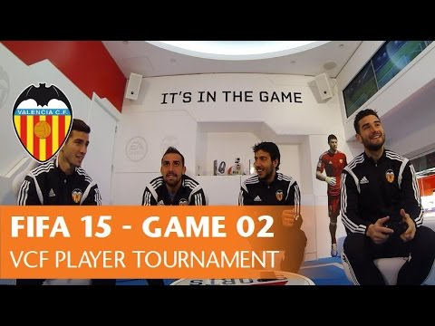 FIFA 15 - VALENCIA CF PLAYER TOURNAMENT - GAME 02 Parejo/Barragán vs Alcácer/Gayà