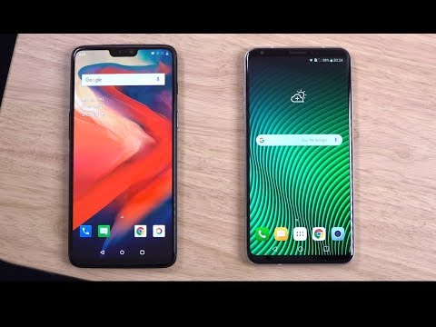 OnePlus 6  vs LG V30 ThinQ - Which is Fastest?