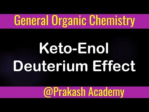 Organische Chemie: Keto Enol tatutomerism