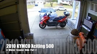 9. Xciting 500 - A Winter Scooter Ride