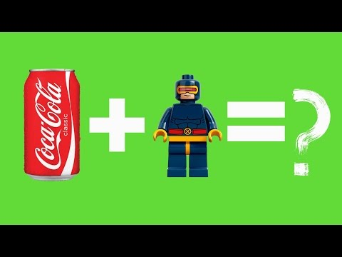 DIY-КАК СДЕЛАТЬ ЛЕГО МИНИФИГУРКУ  ИЗ КОЛЫ? __LEGO People OF COLA