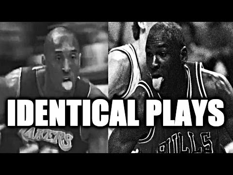 Video: Kobe Bryant vs Michael Jordan – Identical Plays