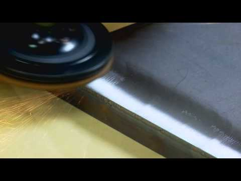 Rmoving and refining welds made easy with Cubitron™ II and Scotch-Brite™