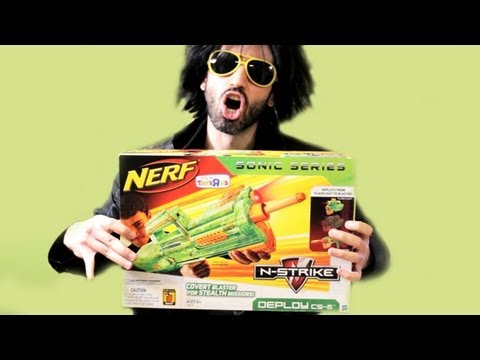 Nerf Christmas SURPRISE!!!