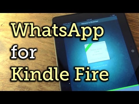 WhatsApp for Your Amazon Kindle Fire HDX (Plus Other Android Tablets) [How-To]