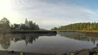 Morning Mist Tide Rising -  GoPro Time Lapse