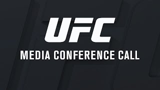 UFC Fight Night: Holm vs Shevchenko and UFC 201: Lawler vs Woodley Media Call by UFC