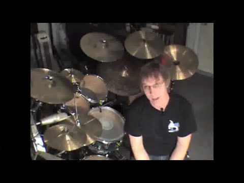 Drum Lesson: Billy Ashbaugh: Linear Grooves Part 2