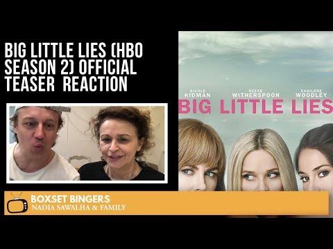 Big Little Lies (HBO Season 2) Official TEASER - Nadia Sawalha & The Boxset bingers Reaction