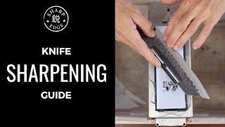 Video How To Sharpen a Kitchen Knife - Beginner's Guide to Knife Sharpening MP3, 3GP, MP4, WEBM, AVI, FLV April 2019