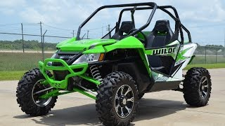 7. $15,799:  2015 Arctic Cat Wildcat X Team Arctic Green Overview and Review
