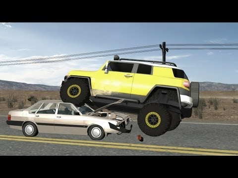 Rigs of Rods - New Crash Tests 13