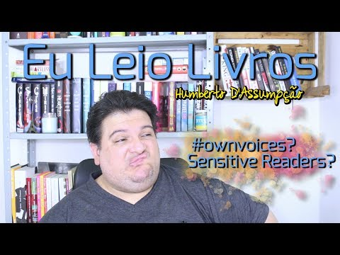 Book Talk #02 - #ownvoices & Sensitive Readers - Eu Leio Livros