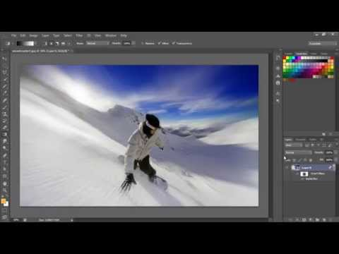 Zoom Action Effect In Photoshop