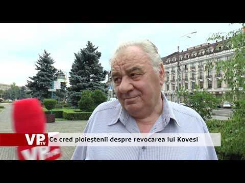 Ce cred ploieștenii despre revocarea lui Kovesi