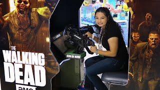 The Walking Dead Arcade Game!!!