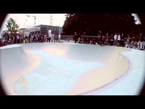 Tim van der Steen opening skatepark Emmen