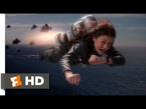 Spy Kids (4/10) Movie CLIP - Jetpack Pursuit (2001) HD