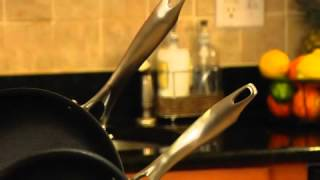 5 Quart Sauté Pan with Helper Handle and Cover Demo Video Icon