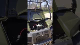 5. 2018 Polaris Ranger 570 Full Size winch