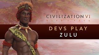 Video Civilization VI: Rise and Fall - Devs Play the Zulu MP3, 3GP, MP4, WEBM, AVI, FLV Maret 2018