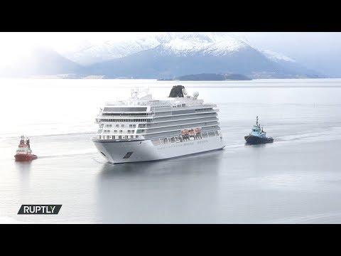 النرويج : بدء إخلاء سفينة تقل 1300 شخص بسبب عطل في المحرك